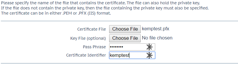 How To Import SSL Certificates To Your LoadMaster – KEMP Technologies