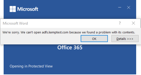 Office - Unable to Edit Office Files SharePoint + ESP – Kemp