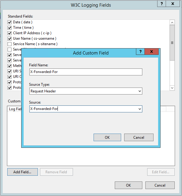 Adding The X-Forwarded-For Header and Configuring IIS